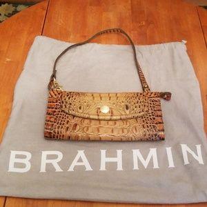 Brahmin Toasted Almond Clutch